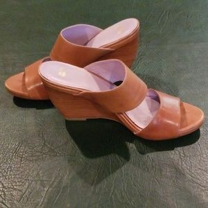 Johnston & Murphy wedge sandal